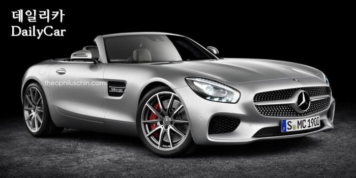 메르세데스-AMG ′GT 로드스터′ 버전 예상 랜더링…′눈길′