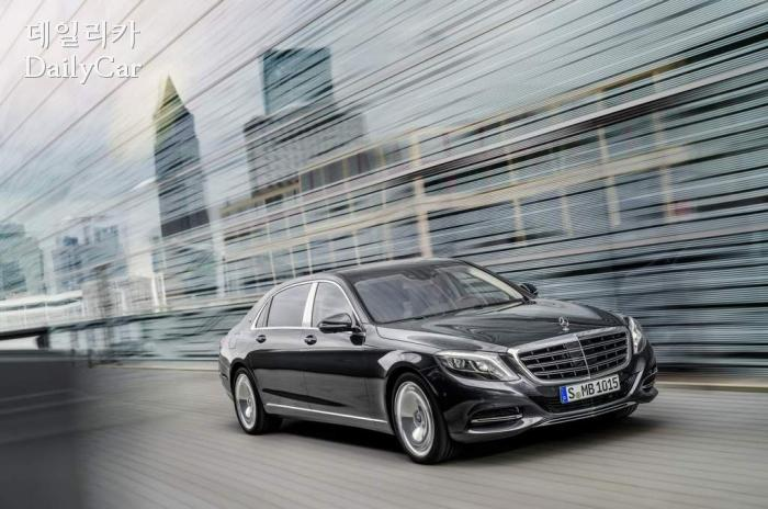 The New Mercedes-Maybach S 500 4MATIC