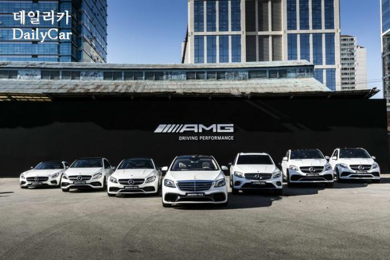 메르세데스-AMG 라인업