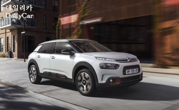 시트로엥, '뉴 C4 칵투스 SUV' 출시 ..가격은 2790만원
