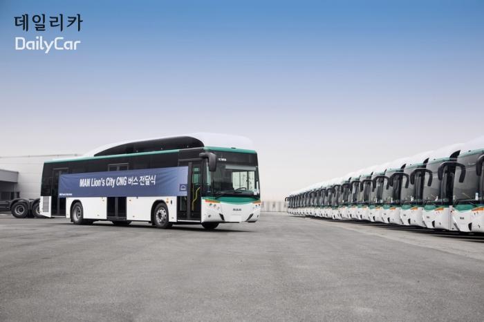 만트럭버스, 김포운수에 저상버스 30대 공급..버스 시장 진출 본...