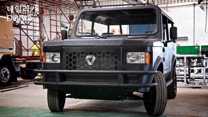 [구상 칼럼] 아프리카의 자동차 메이커 '모비우스'..디자인 특...
