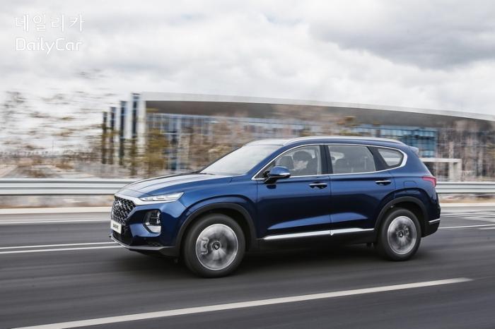 현대차, 가솔린 수요 높은 美서도 싼타페 디젤 투입 계획..왜?