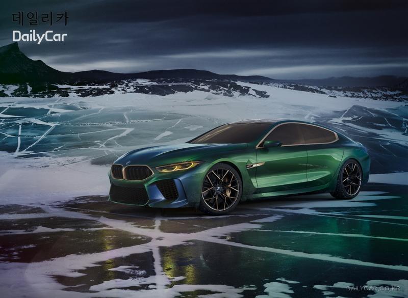 BMW, ′8시리즈 그란 쿠페′ 티저 이미지 공개..출시 일정은?