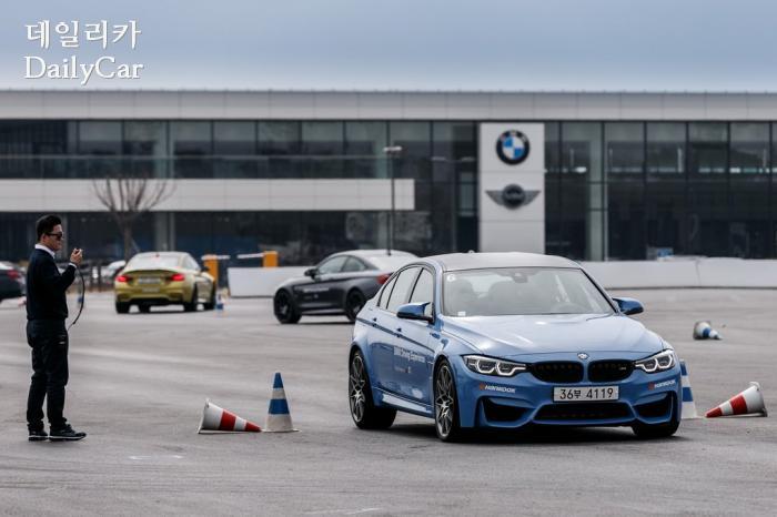 [르포] 고성능차로 경험한 운전의 즐거움..BMW 드라이빙센터 가...