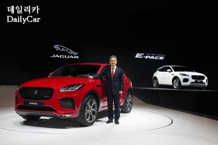 """백정현 재규어랜드로버 대표, """"E-PACE는 SUV 형태로 구현된 스..."""