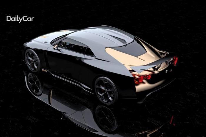 닛산과 이탈디자인의 콜라보, GT-R50 프로토타입..'눈길'