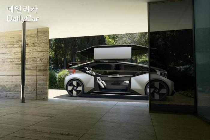 볼보, 360c 콘셉트 공개..'비행기보다 자동차 타는 시대 열릴 ...