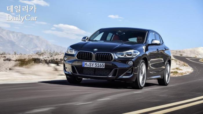 BMW, 최초의 4기통 M 'X2 M35i' 공개..모습 살펴보니..