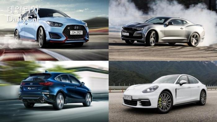 [2019 올해의 차] 가장 강렬했던 퍼포먼스 차..4개 후보 살펴보...