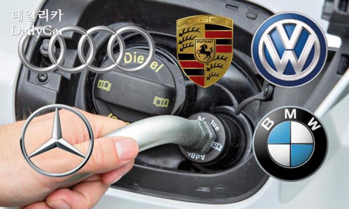 폭스바겐그룹, BMW, 다임러 (출처 아우토자이퉁)