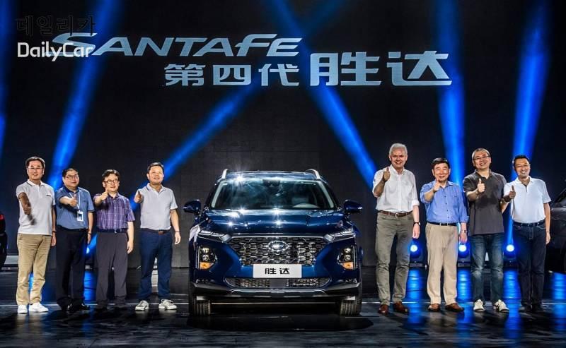 현대차, 중국형 신형 싼타페 \′셩다\′