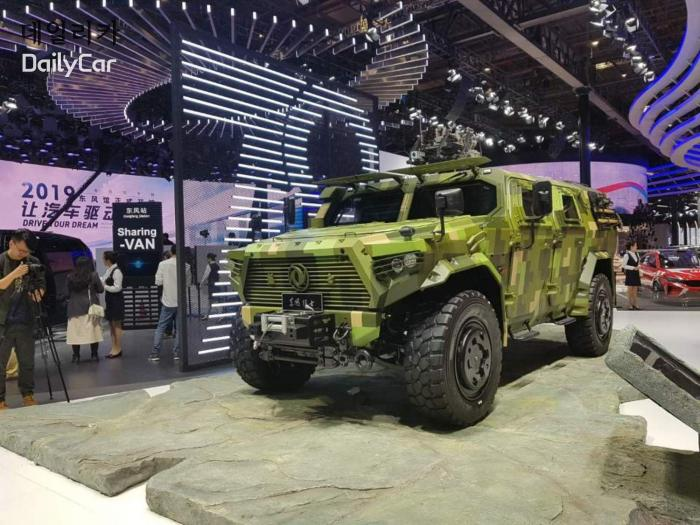 2019 상하이오토쇼 중국 둥펑 전투차량