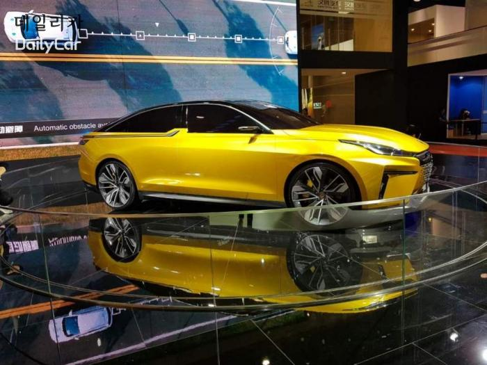 중국차 한텡자동차 Hanteng Auto, 한텡 콘셉트카 RED 01 @2019 상하이모터쇼