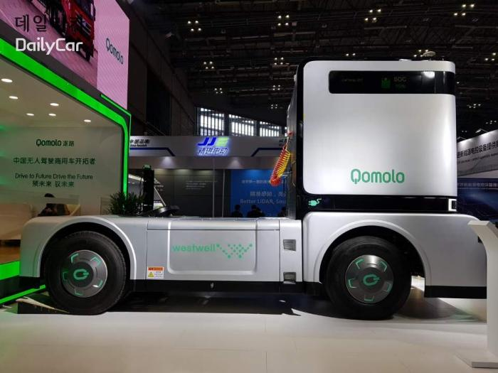 중국 웹스트웰 Westwell 자율주행 전기 트럭 코몰로(Qomolo) @2019 상하이모터쇼