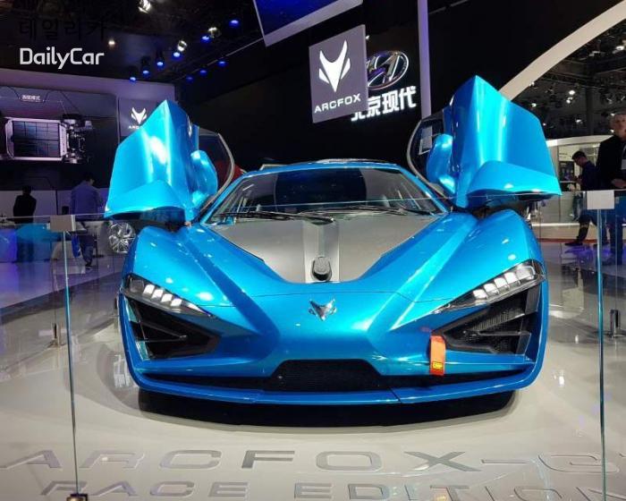 중국 아크폭스 AROFOX X-GT 레이스 에디션 @2019 상하이모터쇼