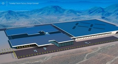 Faraday Future factory factory 출처=Carscoops