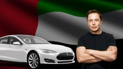 tesla in UAE 출처=The Country Caller